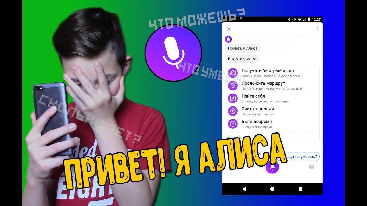 Какие самые смешные и оригинальные ответы от Яндекс Алисы Вы получали?